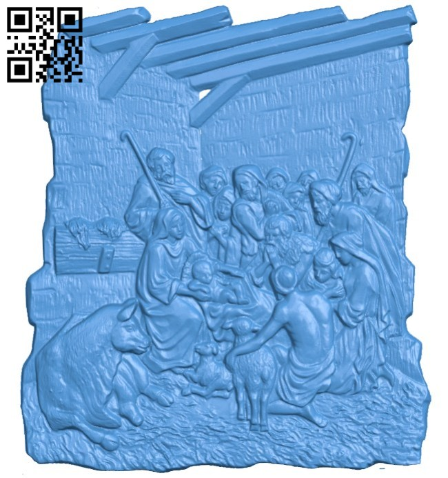 Picture Religion A004465 download free stl files 3d model for CNC wood carving