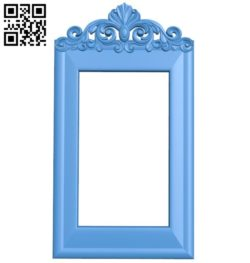 Picture frame or mirror A004541 download free stl files 3d model for CNC wood carving