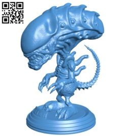 Pop Alien B006529 file stl free download 3D Model for CNC and 3d printer