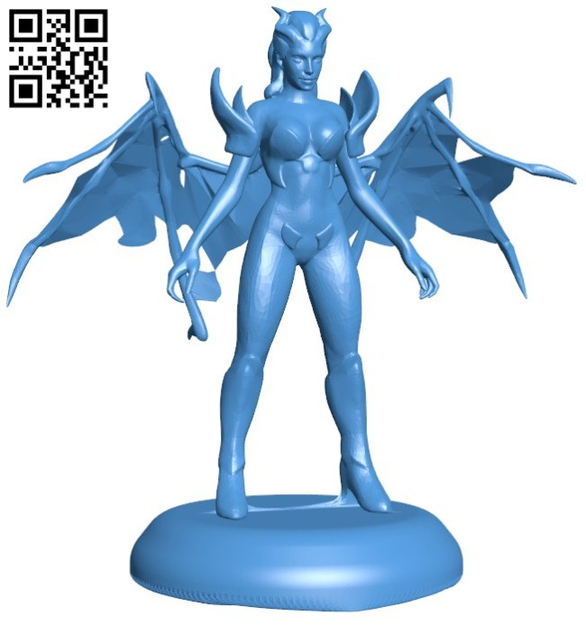 Queen of Pain - Mogana B006626 file stl free download 3D Model for CNC and 3d printer