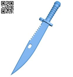 Rambo Knife B006561 file stl free download 3D Model for CNC and 3d printer
