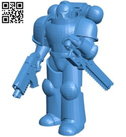 Robot final pose B006634 file stl free download 3D Model for CNC and 3d printer