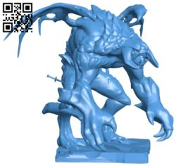 Roshan Dota 2 B006623 file stl free download 3D Model for CNC and 3d printer