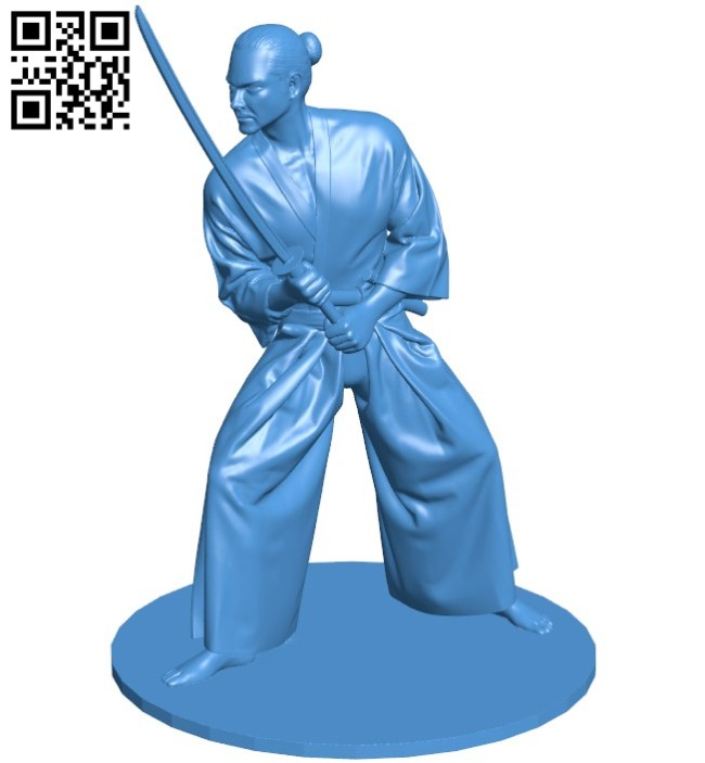 Samurai B006487 file stl free download 3D Model for CNC and 3d printer