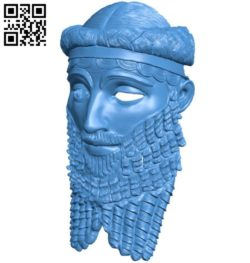 Sargon mask B006527 file stl free download 3D Model for CNC and 3d printer