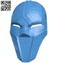 Sith Acolyte Mask B006511 file stl free download 3D Model for CNC and 3d printer