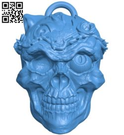Skull knight head B006496 file stl free download 3D Model for CNC and 3d printer