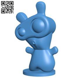 Spawny B006546 file stl free download 3D Model for CNC and 3d printer