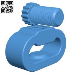 Spinner Press with screw B006501 file stl free download 3D Model for CNC and 3d printer