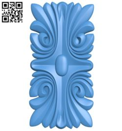 Square pattern A004423 download free stl files 3d model for CNC wood carving