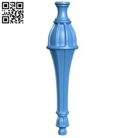 Table legs and chairs A004467 download free stl files 3d model for CNC wood carving