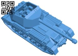 Tank 1-100 archer B006370 file stl free download 3D Model for CNC and 3d printer