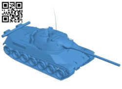 Tank TVP T50-51 B006593 file stl free download 3D Model for CNC and 3d printer