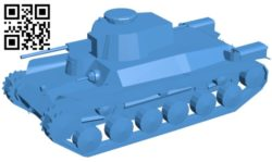 Tank Type-97 B006582 file stl free download 3D Model for CNC and 3d printer