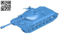 Tank WZ-111 B006499 file stl free download 3D Model for CNC and 3d printer