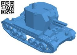 Tank bishop B006553 file stl free download 3D Model for CNC and 3d printer
