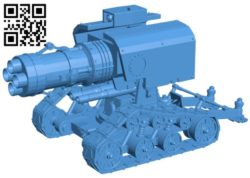 Thunderfire Cannon B006603 file stl free download 3D Model for CNC and 3d printer