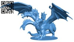 Tiamat One Piece B006350 download free stl files 3d model for 3d printer and CNC carving