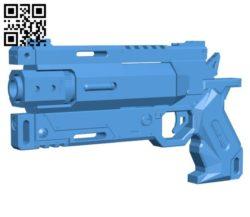 Titanfall Wingman Gun B006509 file stl free download 3D Model for CNC and 3d printer