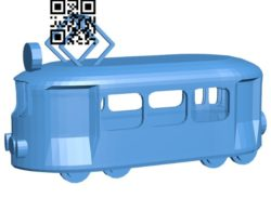 Tram B006609 file stl free download 3D Model for CNC and 3d printer