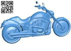 Unknown bike B006572 file stl free download 3D Model for CNC and 3d printer