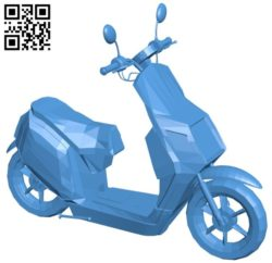 Usual scooter B006568 file stl free download 3D Model for CNC and 3d printer