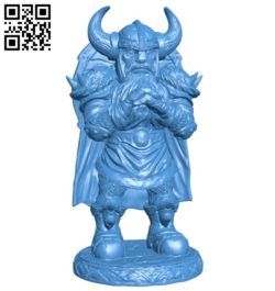 Viking figure B006562 file stl free download 3D Model for CNC and 3d printer