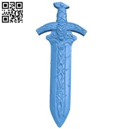 Viking sword B006563 file stl free download 3D Model for CNC and 3d printer