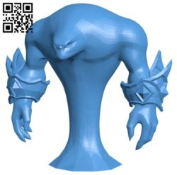 Voidwalker elemental B006558 file stl free download 3D Model for CNC and 3d printer