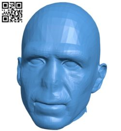 Voldemort head man B006557 file stl free download 3D Model for CNC and 3d printer
