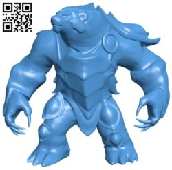 Volibear B006556 file stl free download 3D Model for CNC and 3d printer