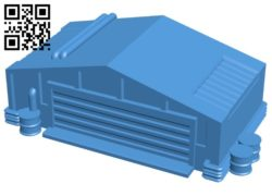 War factory B006554 file stl free download 3D Model for CNC and 3d printer