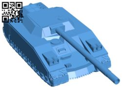 Warhammer tank B006551 file stl free download 3D Model for CNC and 3d printer