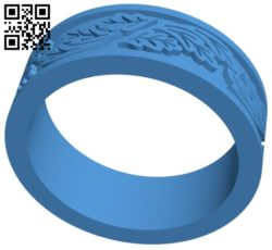 Wedding ring B006549 file stl free download 3D Model for CNC and 3d printer