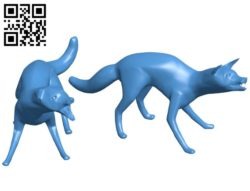 Wild Foxes B006526 file stl free download 3D Model for CNC and 3d printer
