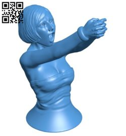 Woman B006532 file stl free download 3D Model for CNC and 3d printer