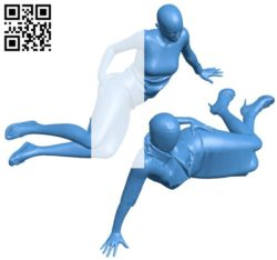Women mannequin lying B006455 file stl free download 3D Model for CNC and 3d printer