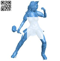 Women war B006555 file stl free download 3D Model for CNC and 3d printer