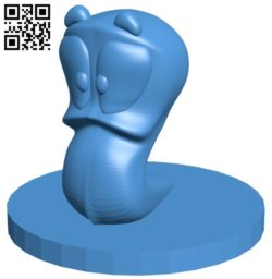 Worms Armageddon B006500 file stl free download 3D Model for CNC and 3d printer