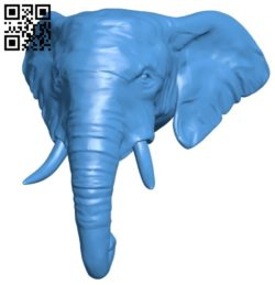 African elephant B006716 file stl free download 3D Model for CNC and 3d printer