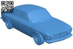 Alfa Romeo Giulia Car B006727 file stl free download 3D Model for CNC and 3d printer