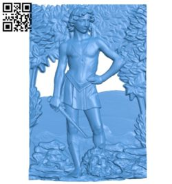 Angel painting A004741 download free stl files 3d model for CNC wood carving