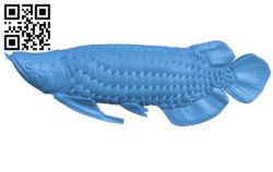 Arowana – fish B006922 file stl free download 3D Model for CNC and 3d printer