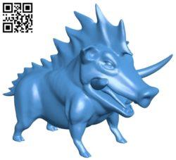 Artemis boar B006888 file stl free download 3D Model for CNC and 3d printer