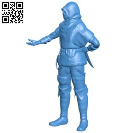 Assassin DS thief B007104 file stl free download 3D Model for CNC and 3d printer