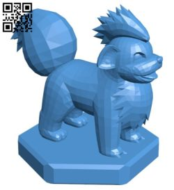 Bishop Growlithe – pokemon B006756 file stl free download 3D Model for CNC and 3d printer