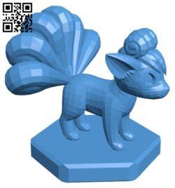 Bishop Vulpix – pokemon B006758 file stl free download 3D Model for CNC and 3d printer