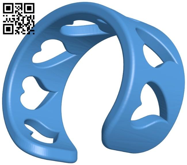 Bracelet B006908 file stl free download 3D Model for CNC and 3d printer
