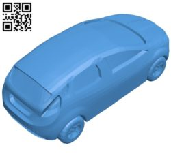 Car another ford focus B006874 file stl free download 3D Model for CNC and 3d printer