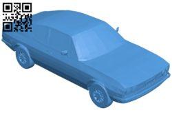 Car audi 100 B007093 file stl free download 3D Model for CNC and 3d printer